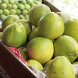 Stock Photo: Grapefruit, mango for sale at Damnoen Saduak Floating Market - T