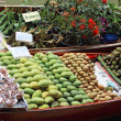 Stock Photo: Mangoes and other fruits for sale at Damnoen Saduak Floating Mar