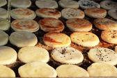 Thailand dessert, snack dough fried — Stock Photo