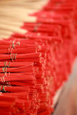 Incense of tie sticks stacked. — Stock Photo
