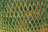 Green tiles background texture - vintage. — Stock Photo