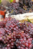 Fresh grapes on the market — Стоковое фото