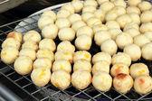 Roasted sweet potatoes asia style — Stock Photo