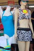 Female body in swimsuit for sale — Stock Photo