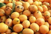 Marian plum fruit - asia fruit — Stock Photo