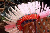 Native american indian chief headdress — Foto Stock