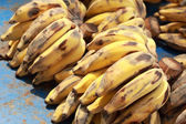 Close up of ripe banana — Foto de Stock