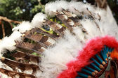 Native american indian chief headdress — Foto de Stock