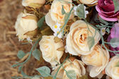 Beautiful of rose artificial flowers — Stock Photo