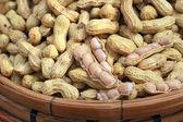 Peanut in the market on sale — Stock Photo