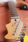 Close up of the guitar — Photo