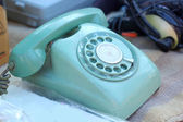 Old phone vintage style for sale. — Stock Photo