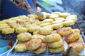 Рисовые лепешки в Азии - Продовольственная Азии — Стоковое фото