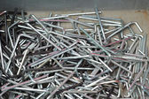 Set of real used stainless  — Stock Photo