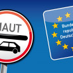 Car tolls Germany — Stock Vector