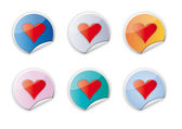 Amore, san valentino, matrimoni — Vettoriale Stock