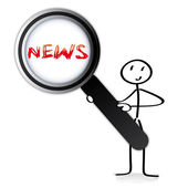 News, Breaking News — Stock Vector
