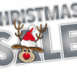 Christmas big sale — Image vectorielle