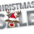 Christmas big sale — Stock Vector