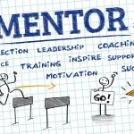 Постер, плакат: Mentor Mentoring Mentorship