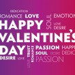 Happy Valentines colourful — Stock Vector #38286965