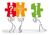 Problem-solving — Stock Vector