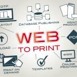 Постер, плакат: Web to Print Web2Print Online Printing