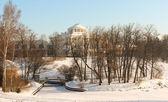 Pavlovsk palace på vintern — Stockfoto