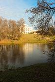 павловский парк. пейзаж с дворцом — Стоковое фото