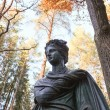 Stock Photo: PolyhymniStatue. Muse in Pavlovsk