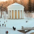 Stock Photo: Friendship Temple in Pavlovsky park on winter holidays