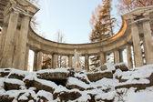 Apollo Colonade in Pavlovsky Park on January 2014 — Stock Photo