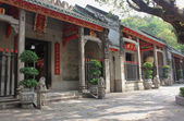 Enter to  Lin Fung Temple (Temple of Lotus) in Macau — Stock Photo