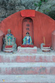 Chinese Holy mans at Tam Kung temple, Temple — Stock Photo