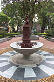 Fountain in Coloane Village in Taipa, Macao — Stock Photo