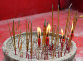 Chinese candles — Stock Photo