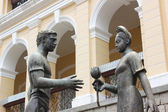 Friendship Statue in Macau — Stock Photo
