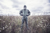 Chemical protection suit — Stock Photo