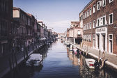 Canal on the Murano Island — Stock Photo