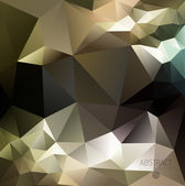 Abstract Fancy Diamond Shaped  Background — Stok Vektör