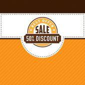 Sale price discount ribbon label  elements — Vector de stock