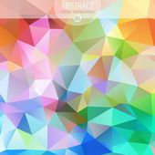 Vector Colorful abstract design template — Stock Vector
