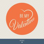 Happy valentines day and weeding vector cards. — Stock Vector