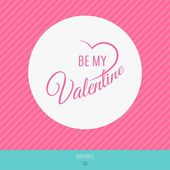 Happy valentines day vector love cards — Stockvektor