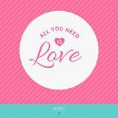Dia dos namorados feliz do amor do dia do vetor cartões — Vetorial Stock