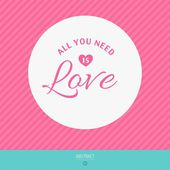 Happy valentines day vector love cards — Stockvector
