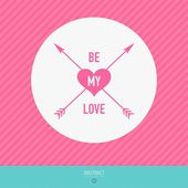 Happy valentines day vector love cards — Vetorial Stock