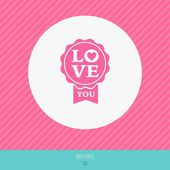Happy valentines day vector love cards — ストックベクタ