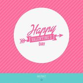 Happy valentines day vector love cards — Vecteur