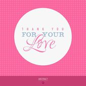 Happy Valentines day card, i love you — Stock Vector